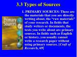 3 3 types of sources