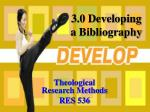 theological research methods res 536