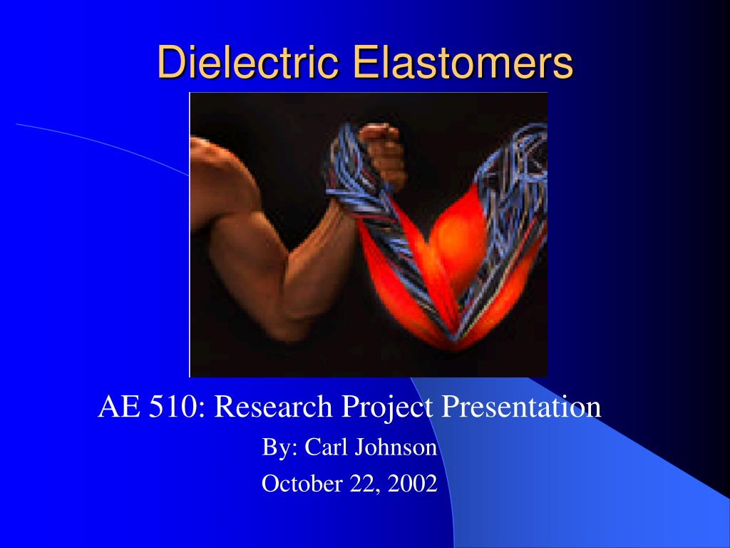 dielectric elastomers l.