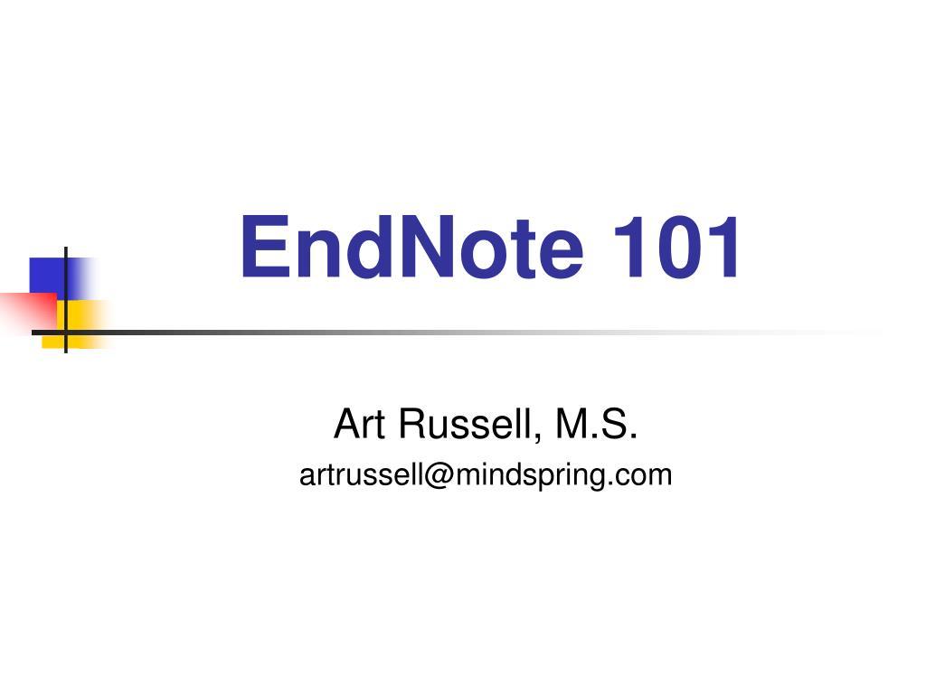 endnote 101 l.
