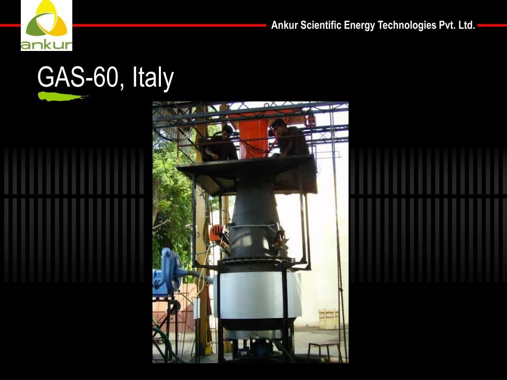GAS-60, Italy