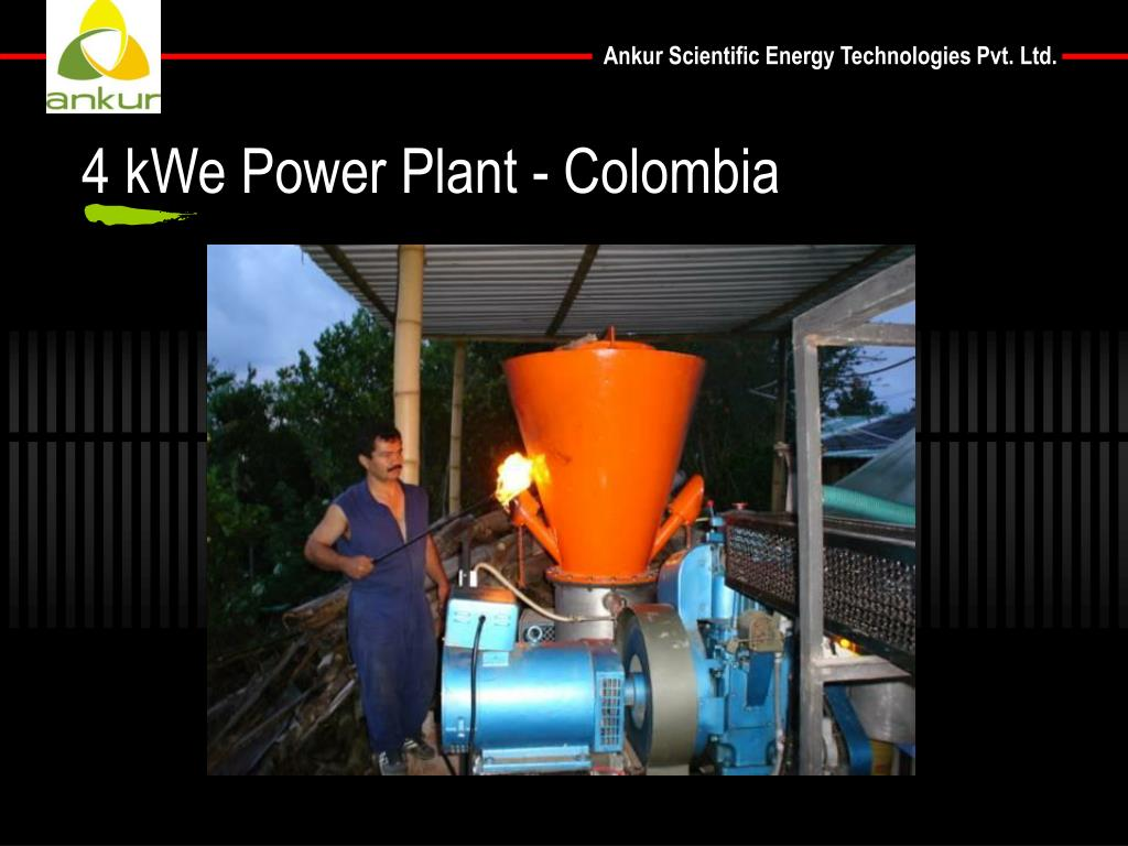 4 kWe Power Plant - Colombia