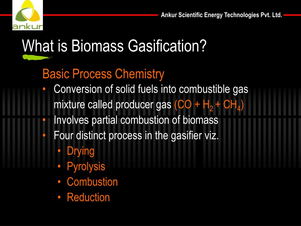 What is Biomass Gasification?