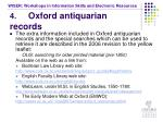 4 oxford antiquarian records30