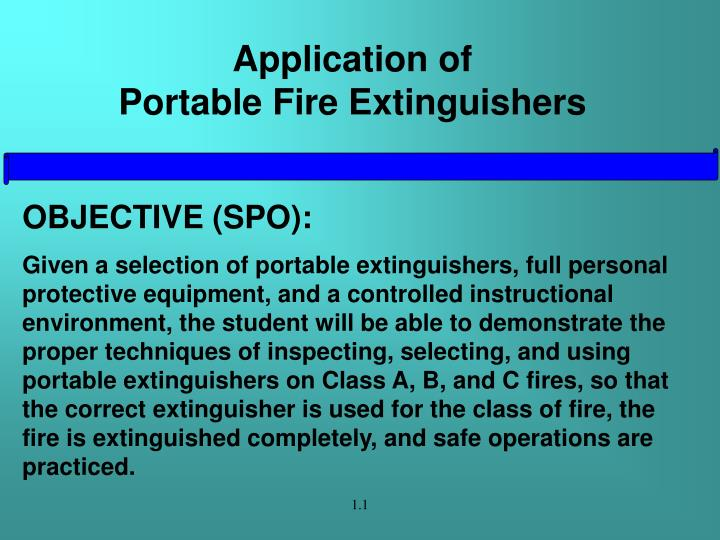Application of portable fire extinguishers2