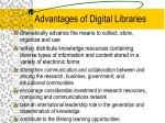 advantages of digital libraries