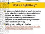 what is a digital library