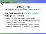 getting help http www nla gov au librariesaustralia contactus html