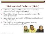 statement of problem state
