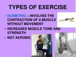 types of exercise21