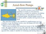 axial flow pumps6