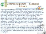 centrifugal pumps hydraulic balance54