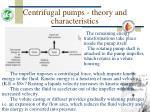 centrifugal pumps theory and characteristics13