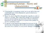 centrifugal pumps theory and characteristics16