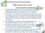 mechanical seals46