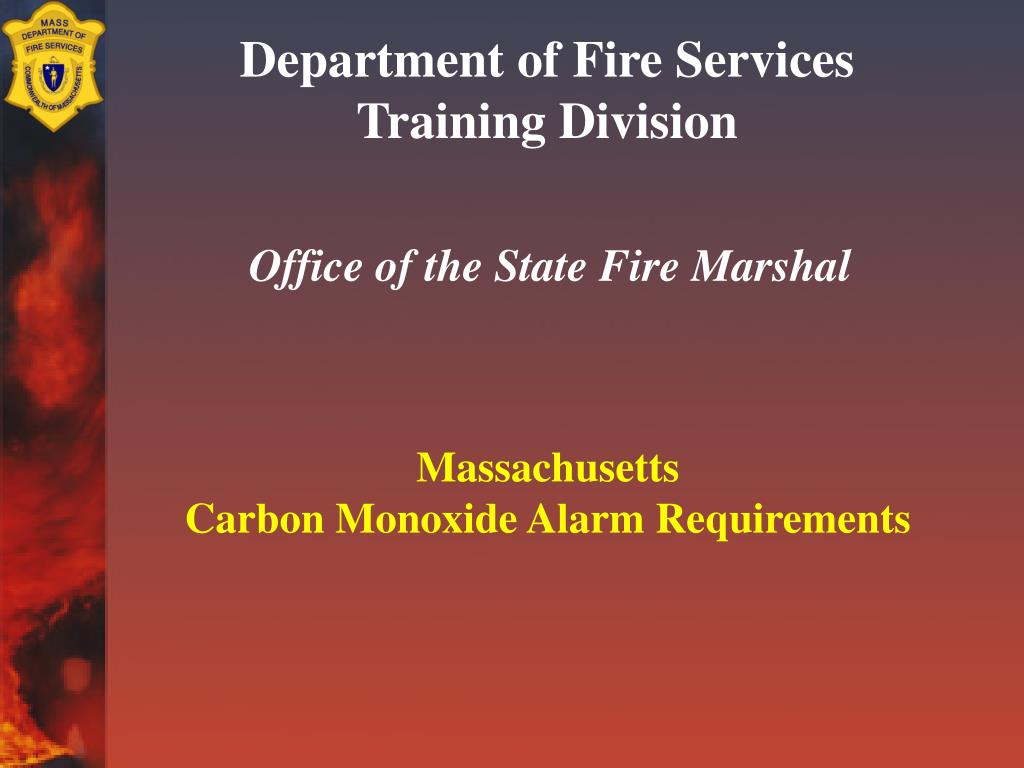 department of fire services training division l.