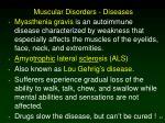muscular disorders diseases64
