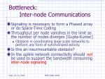 bottleneck inter node communications