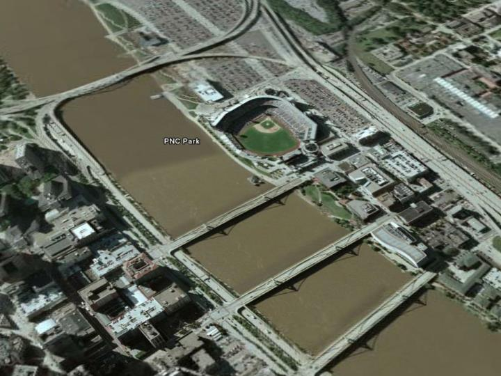 Stadiums for which we had immediate access to 3d models