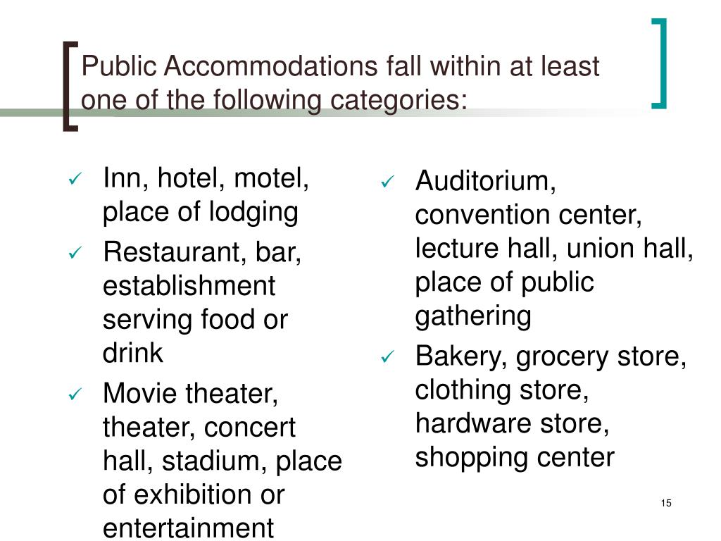 Inn, hotel, motel, place of lodging