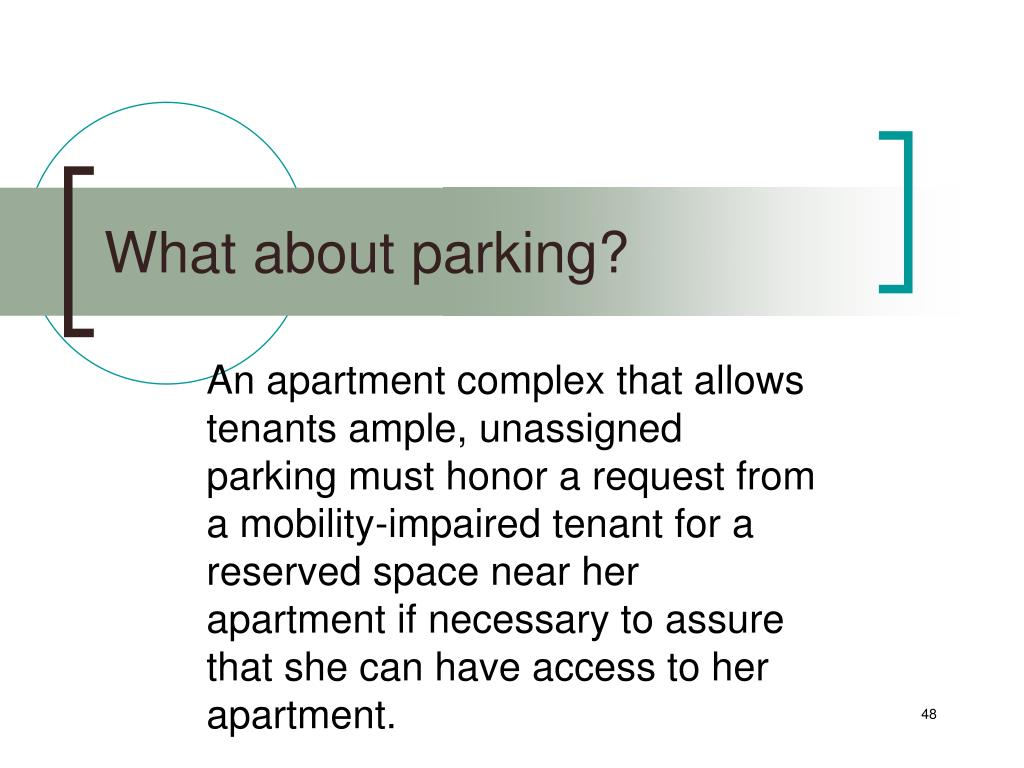 What about parking?