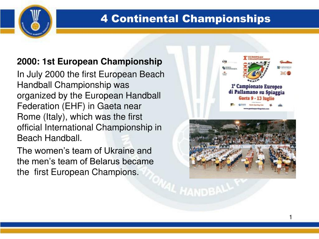 4 continental championships l.
