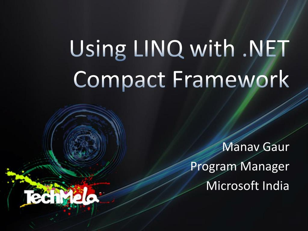 using linq with net compact framework l.