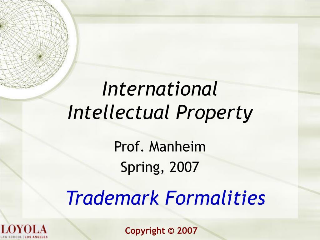 international intellectual property l.