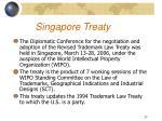 singapore treaty