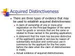 acquired distinctiveness31
