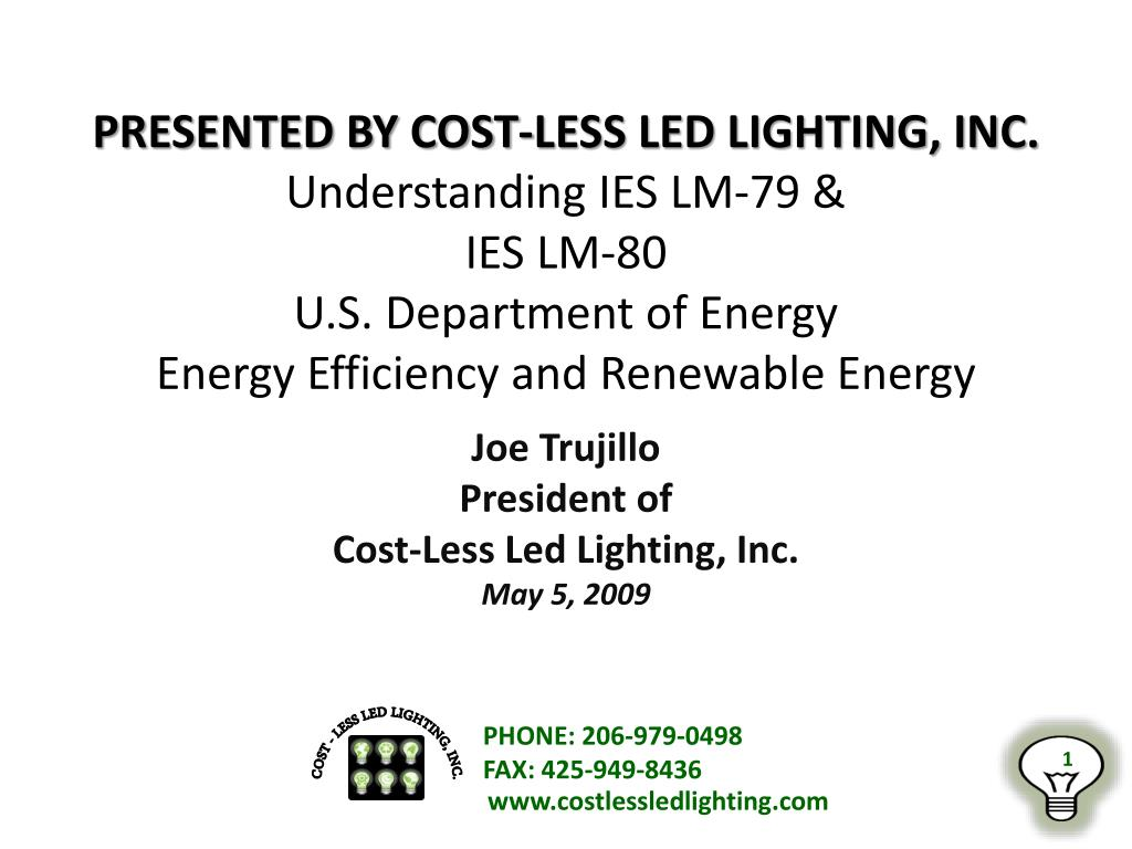 Ppt Joe Trujillo President Of Cost Less Led Lighting Inc May 5  sc 1 st  Shapeyourminds.com & Cost Less Lighting Inc | Shapeyourminds.com