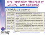 1975 tetrahedron references by ej corey note highlighting