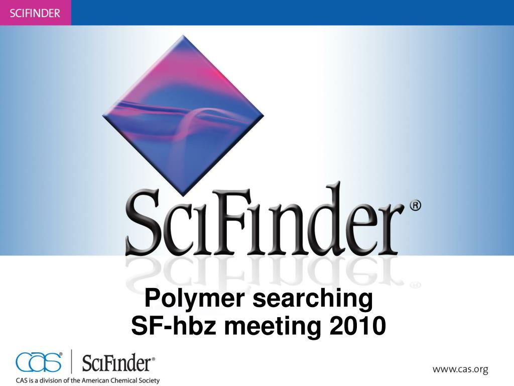 polymer searching sf hbz meeting 2010 l.