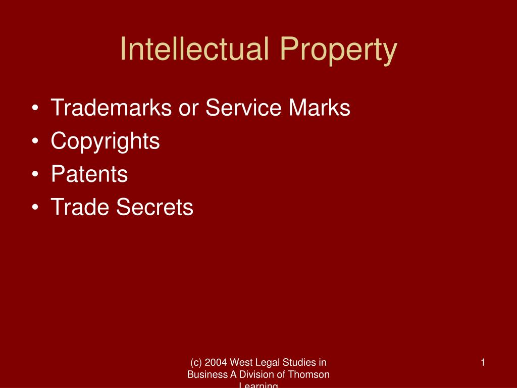 intellectual property l.