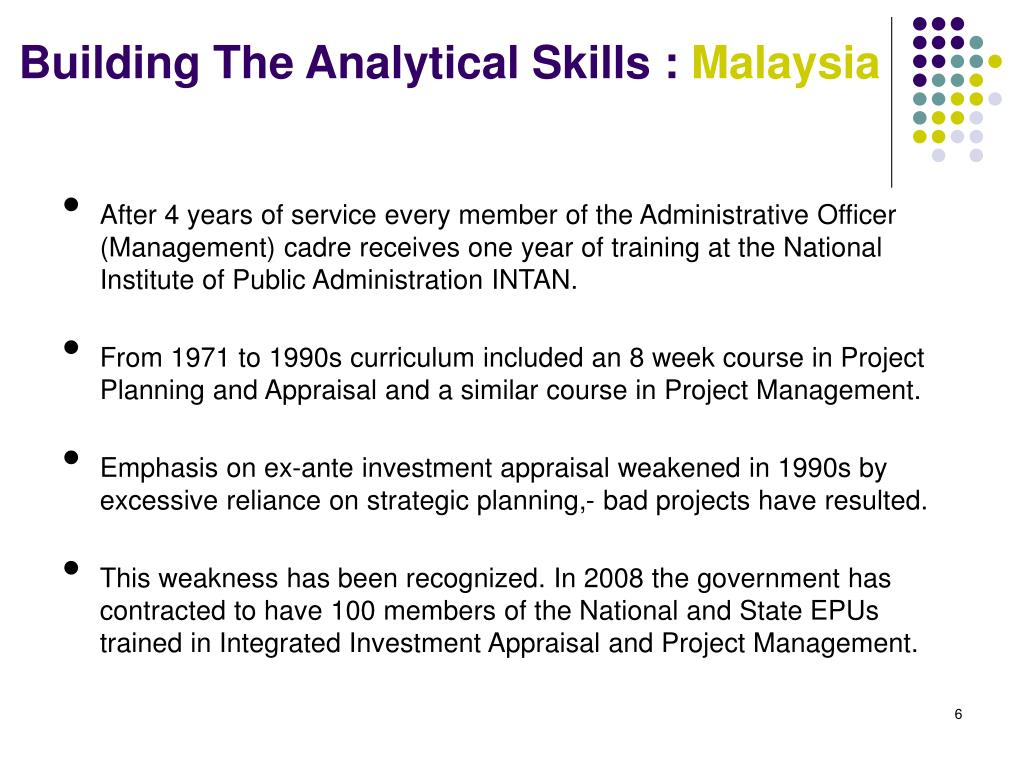 Building The Analytical Skills :