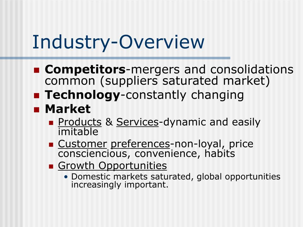 Industry-Overview
