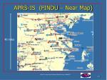 aprs is findu near map