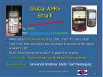 global aprs email