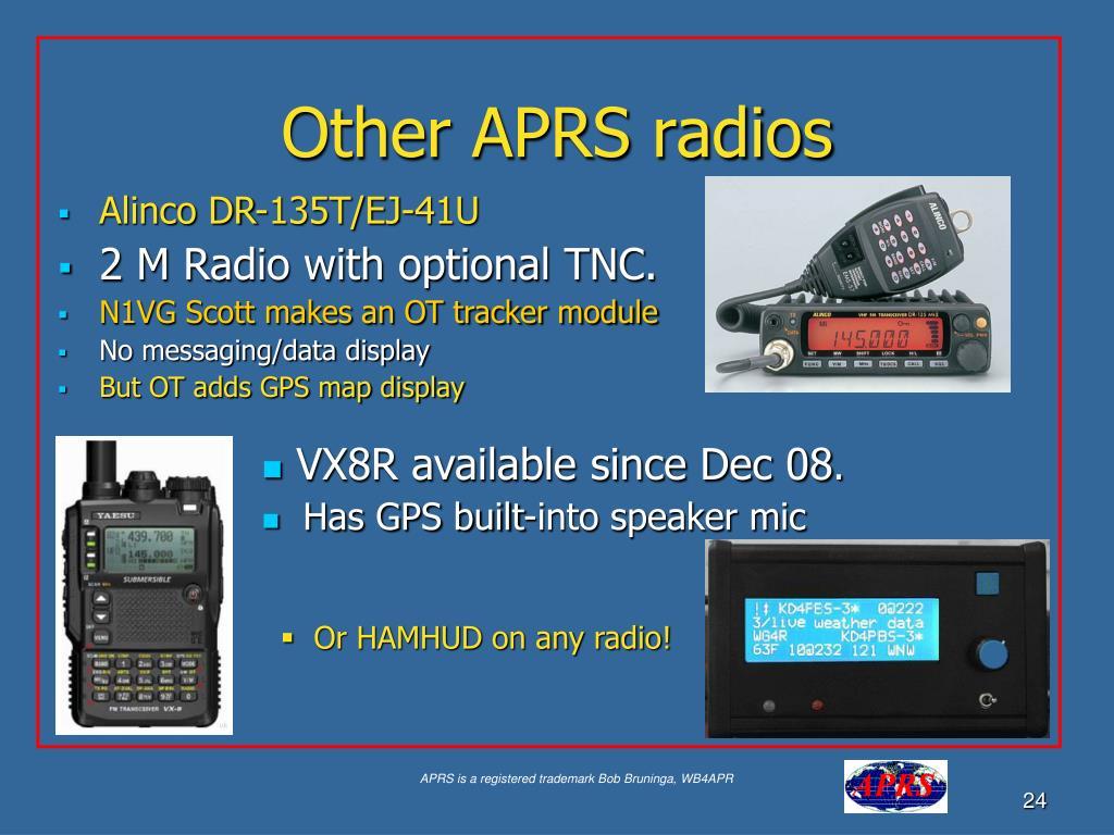 Other APRS radios