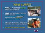 what is aprs3