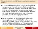 faq what is the future of msmq and messaging technologies at microsoft