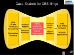 case diabolo for cbs filings