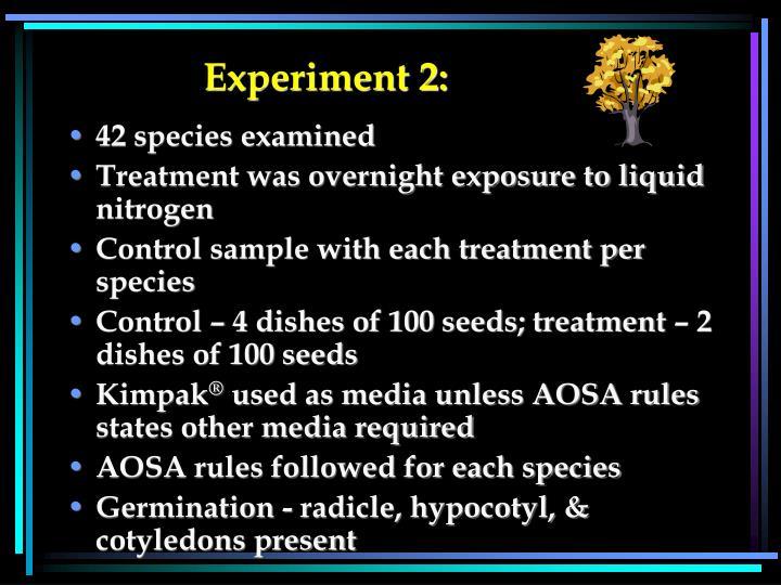 Experiment 2: