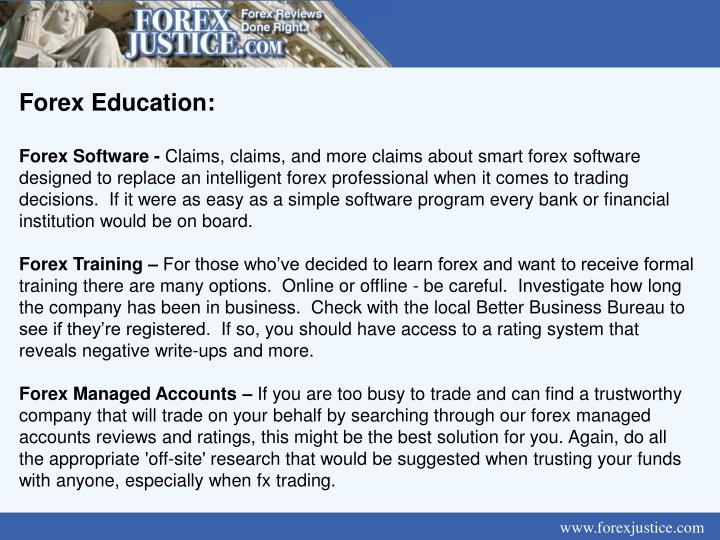 Forex Education: