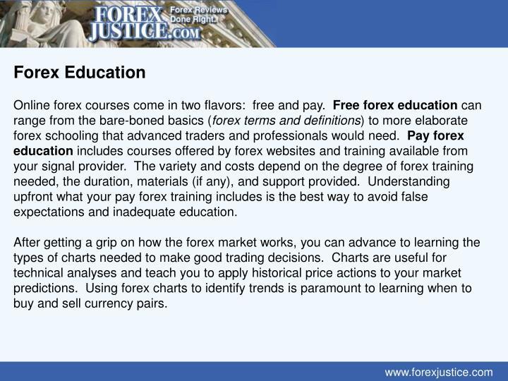 Forex Education