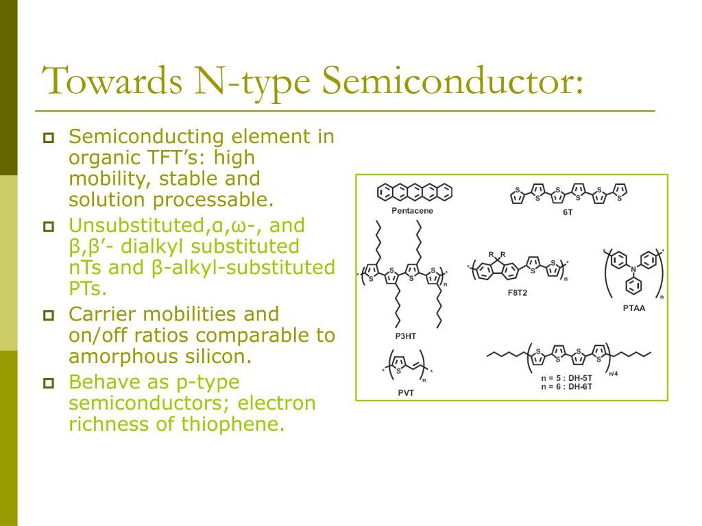 Towards N-type Semiconductor: