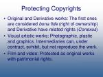 protecting copyrights