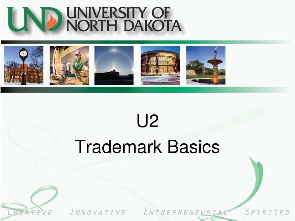 u2 trademark basics l.