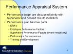 performance appraisal system26