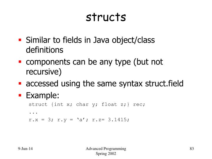 structs